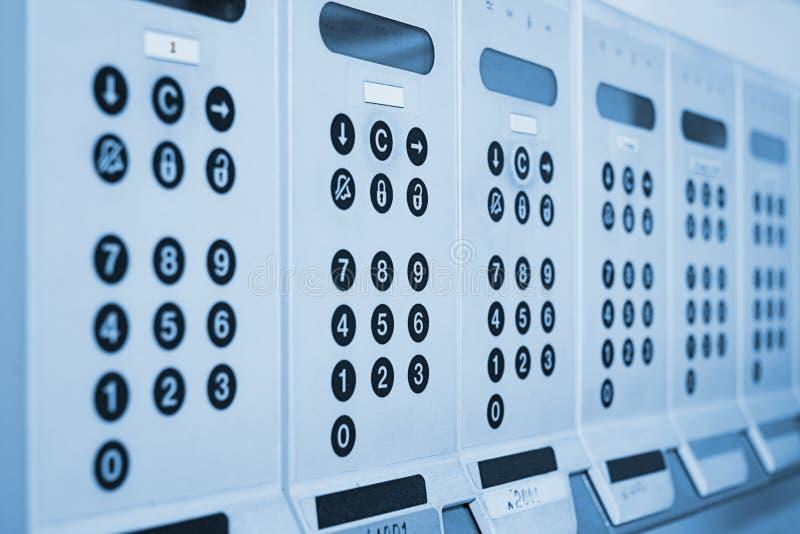 Sistema de alarme foto de stock