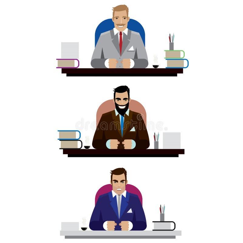 Sistema de Boss ilustración del vector