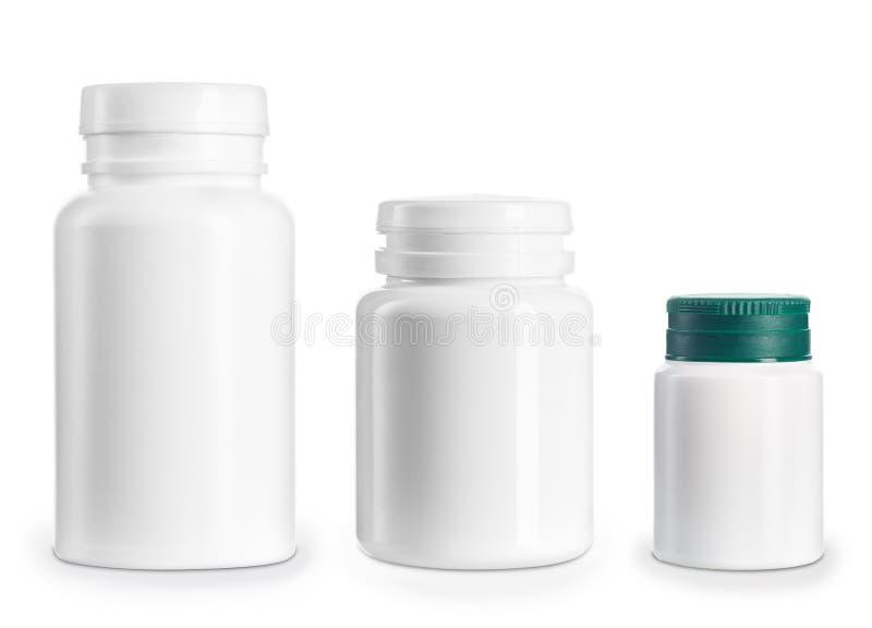 Sistema de botellas médicas fotografía de archivo