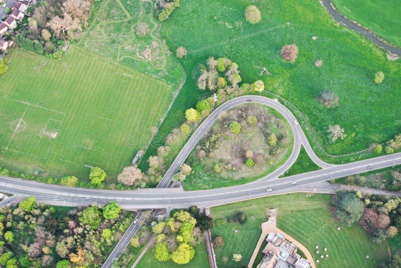 Sistema de carreteras fotografía de archivo