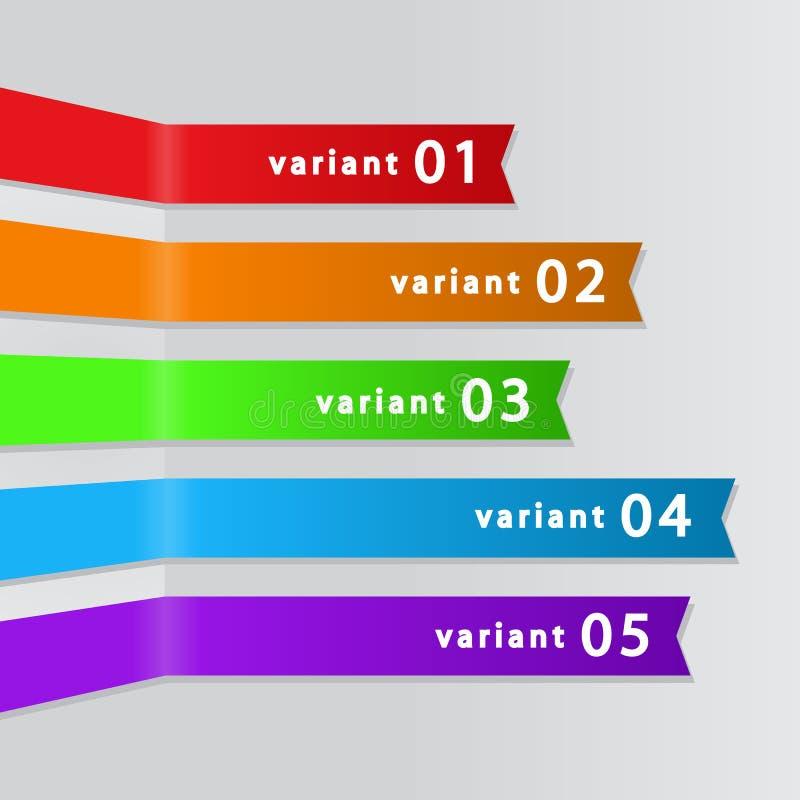 Sistema de cintas de la calidad stock de ilustración
