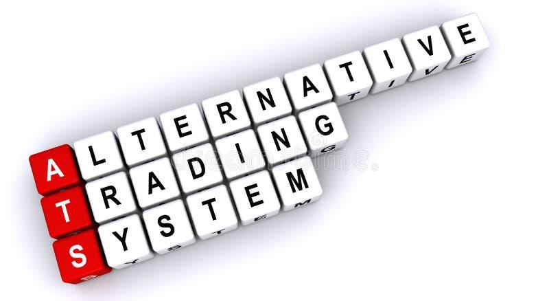 Sistema de comercio alternativo libre illustration