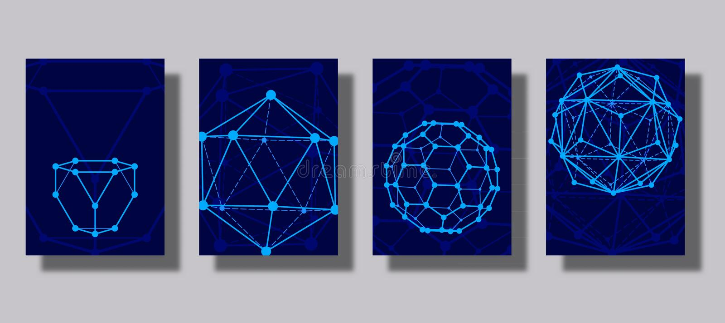 Sistema de cubiertas con la línea formas geométrica Aplicable para las banderas, los carteles, los carteles, los aviadores y el f stock de ilustración