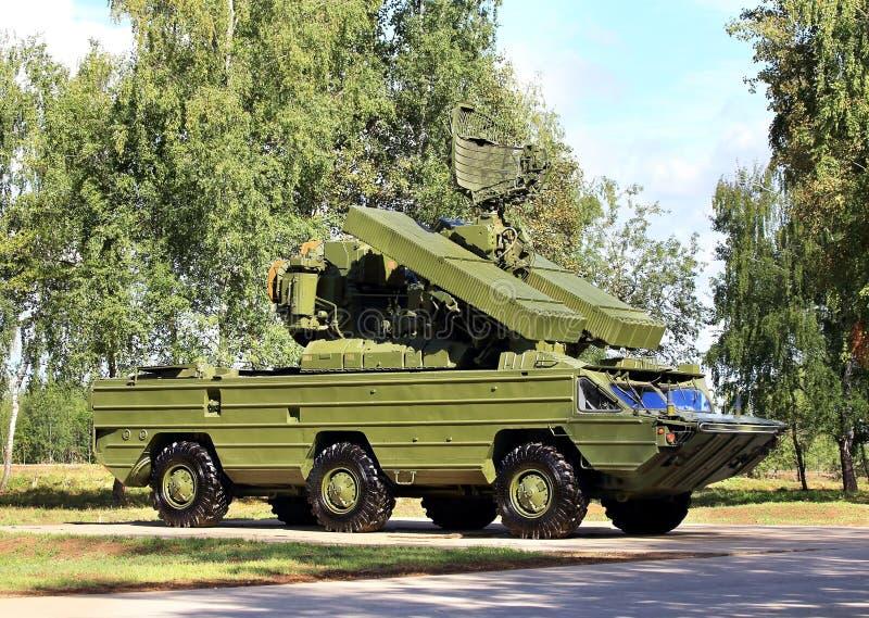 Sistema de defesa antiaérea imagem de stock royalty free