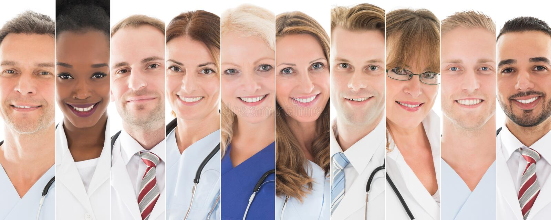 Sistema de doctores fotos de archivo libres de regalías