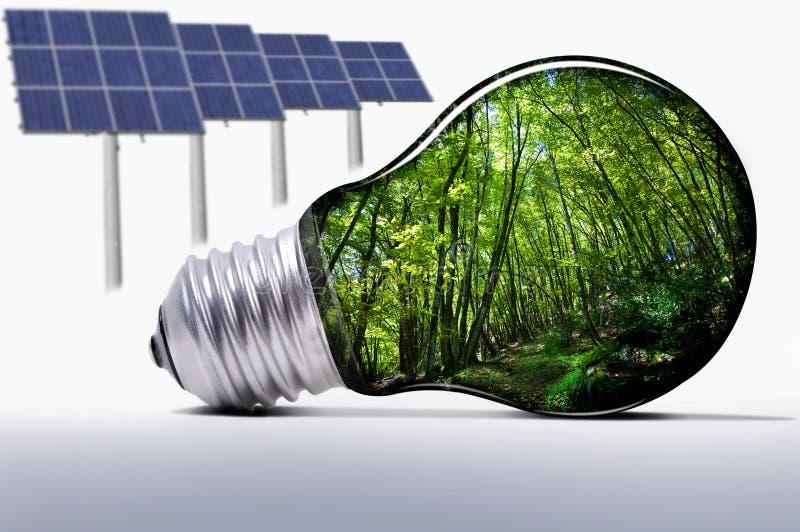 Sistema de Eco imagens de stock