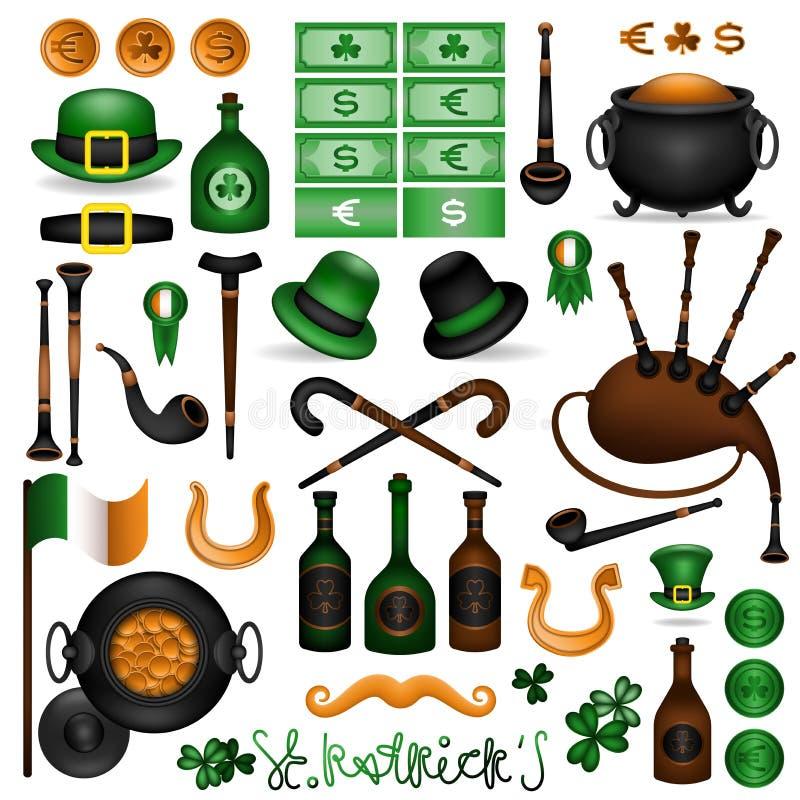 Sistema de elemento de Patrick 2 libre illustration