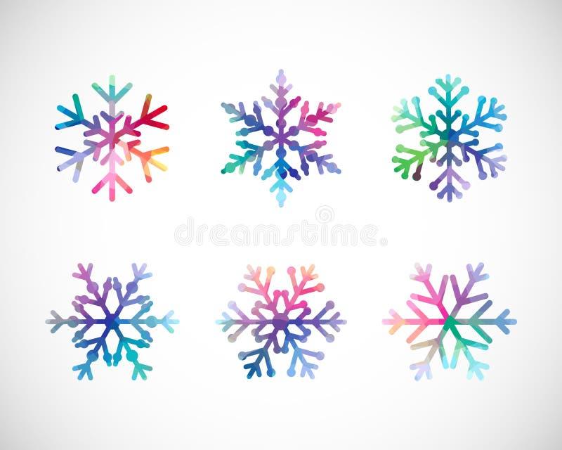 Sistema de escamas de la nieve libre illustration