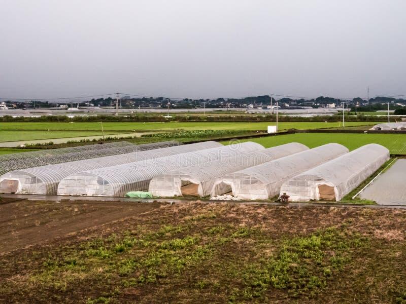 Sistema de granja agrícola fotografía de archivo