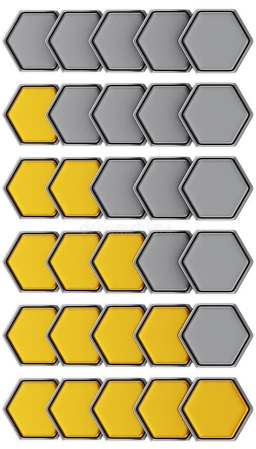 Sistema de oro del grado libre illustration