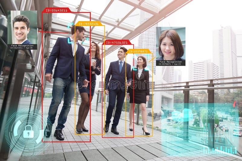 Sistema de inteligencia artificial foto de archivo