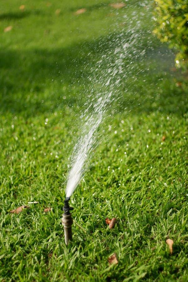 Sistema de irrigação do jardim imagem de stock