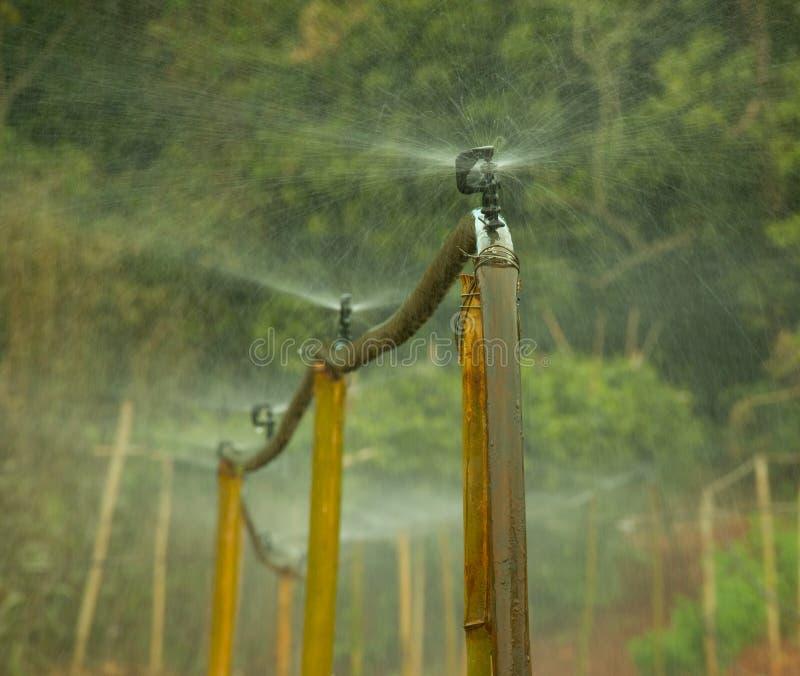 Sistema de irrigação do terceiro mundo imagens de stock royalty free