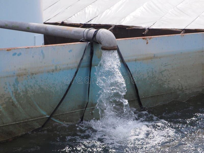 Sistema de irrigación del tubo fotos de archivo libres de regalías