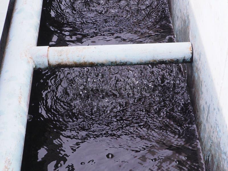 Sistema de irrigación del tubo fotografía de archivo