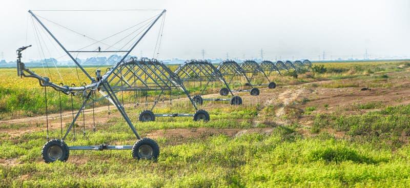 Sistema de irrigación sobre distancias largas foto de archivo