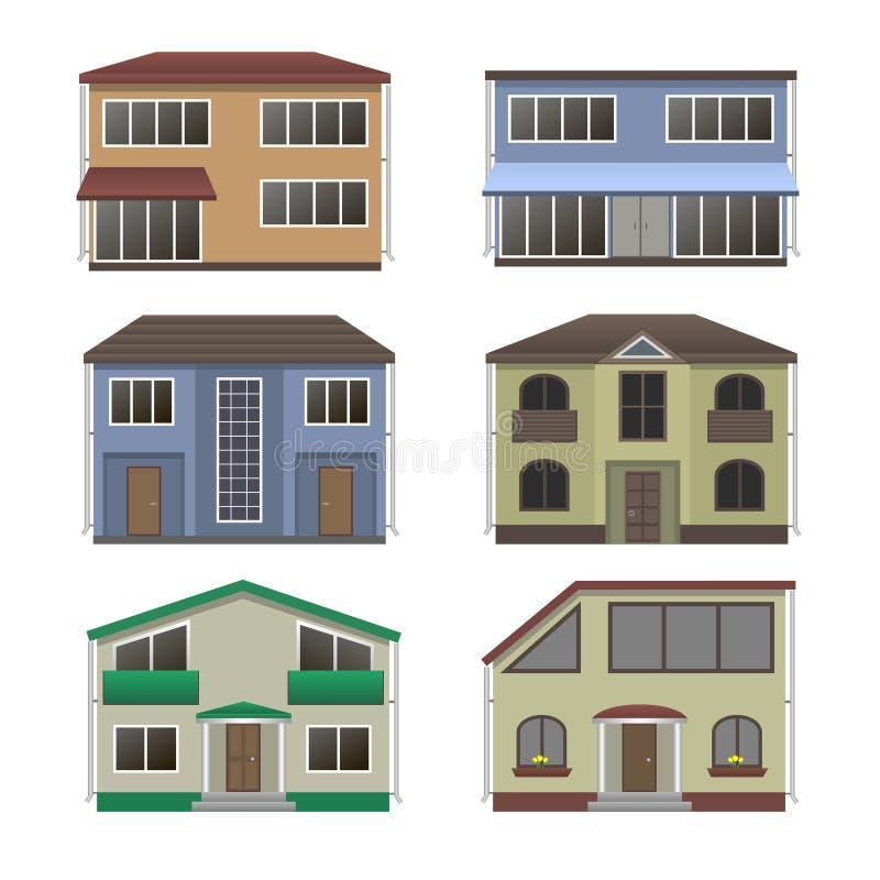 Sistema de la casa stock de ilustración