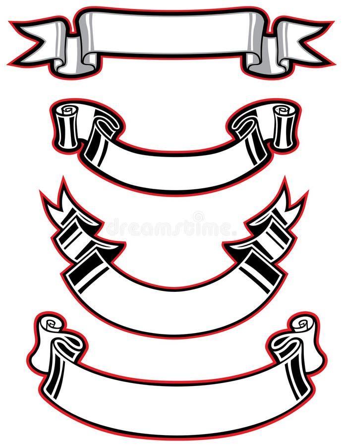 Sistema de la cinta stock de ilustración