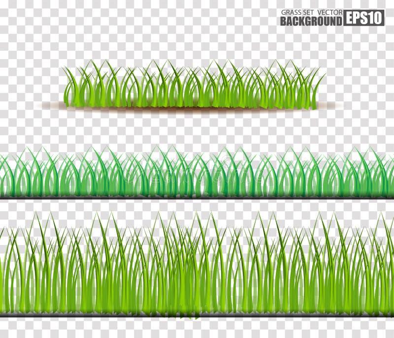 Sistema de la hierba, ejemplo del vector stock de ilustración