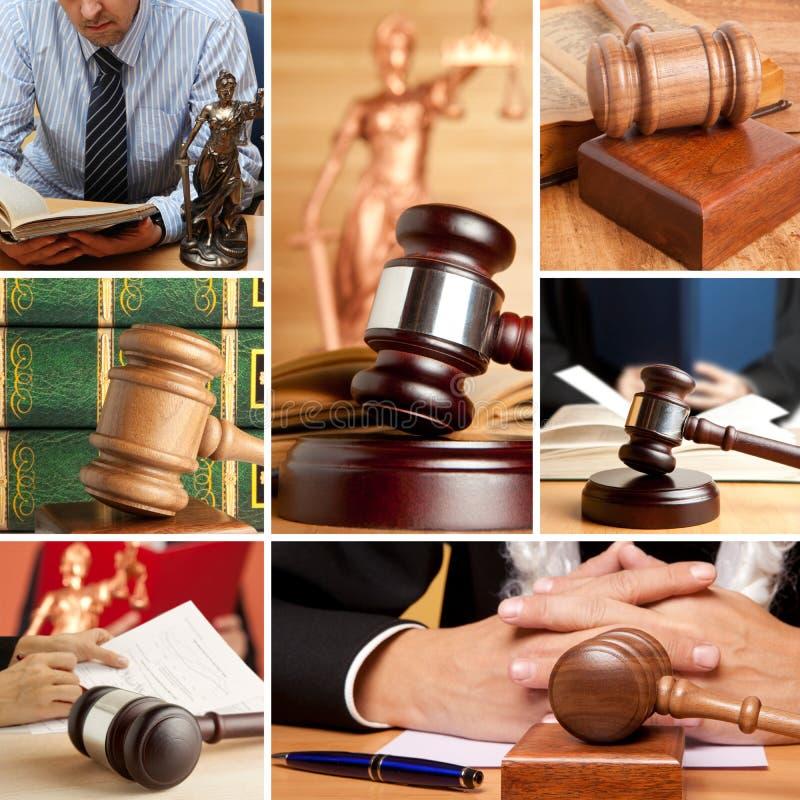 Sistema de la ley 6 fotografía de archivo