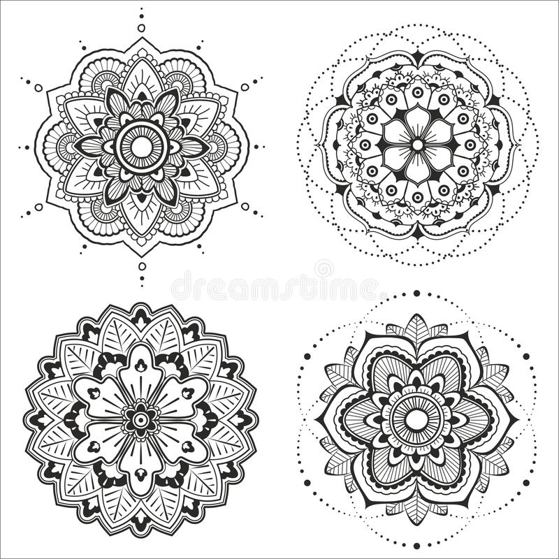 Sistema de la mandala libre illustration