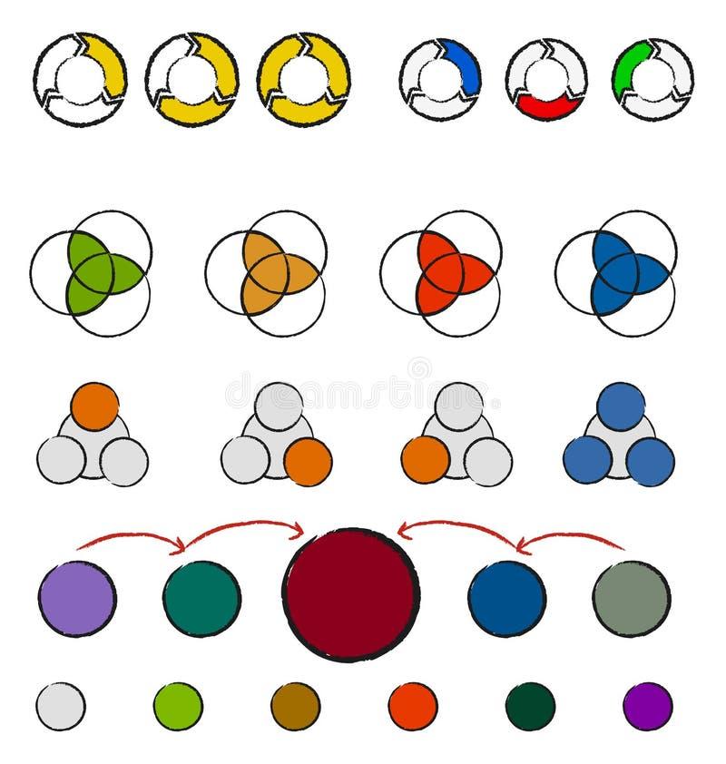 Download Sistema De La Mano Dibujado Ilustración del Vector - Ilustración de alteración, líquido: 41915072