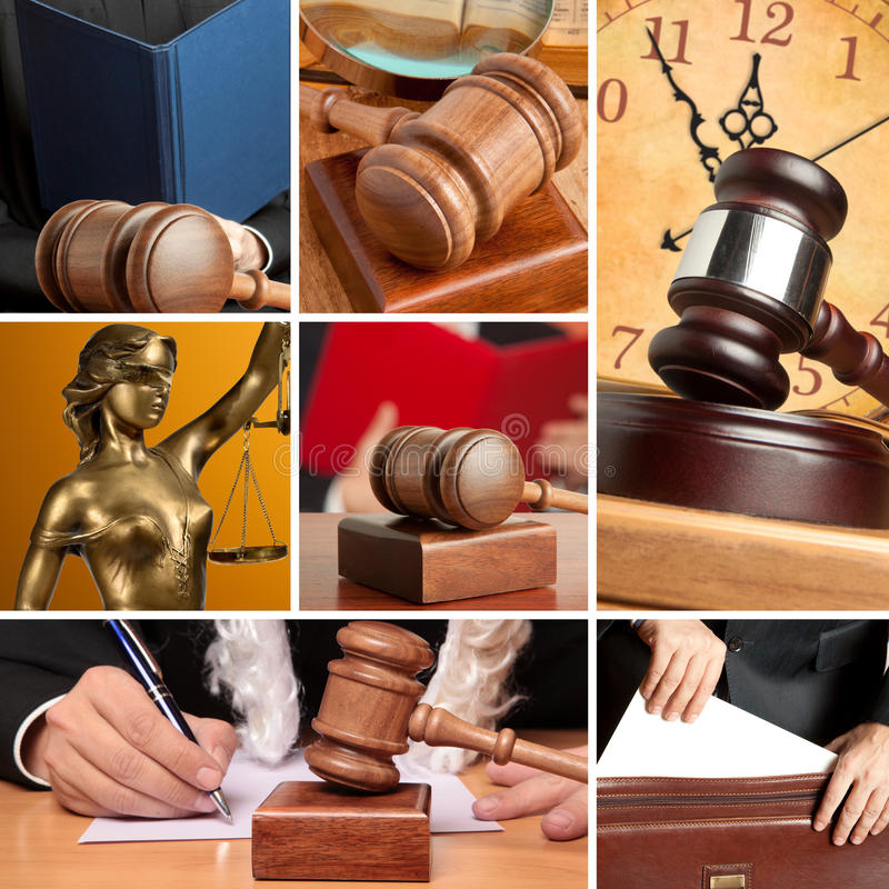 Sistema de ley imagen de archivo libre de regalías