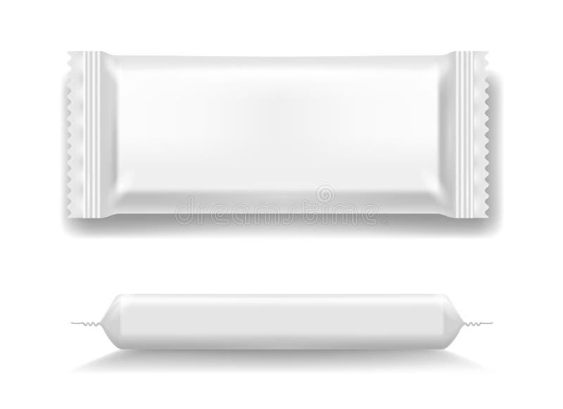 Sistema de los iconos del paquete del flujo libre illustration