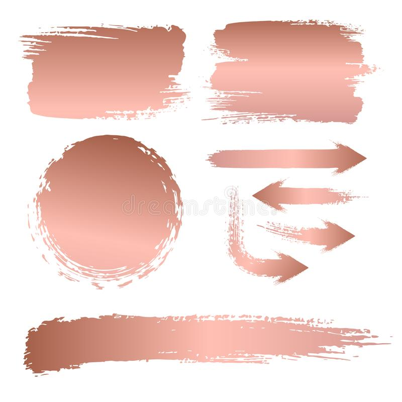 Sistema de los movimientos del cepillo para el fondo de una cartelera libre illustration