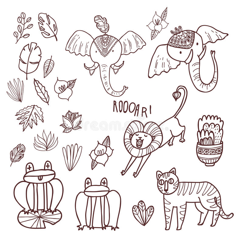 Sistema de Maharajá Garden libre illustration
