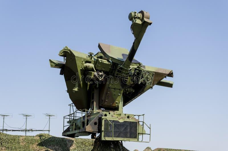 Sistema de misiles anti de los aviones fotos de archivo