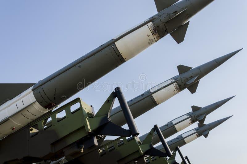 Sistema de misiles de la fuerza aérea foto de archivo libre de regalías