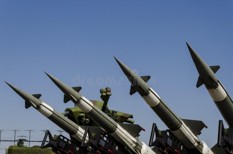 Sistema de misiles de la fuerza aérea de Neva-M imagen de archivo