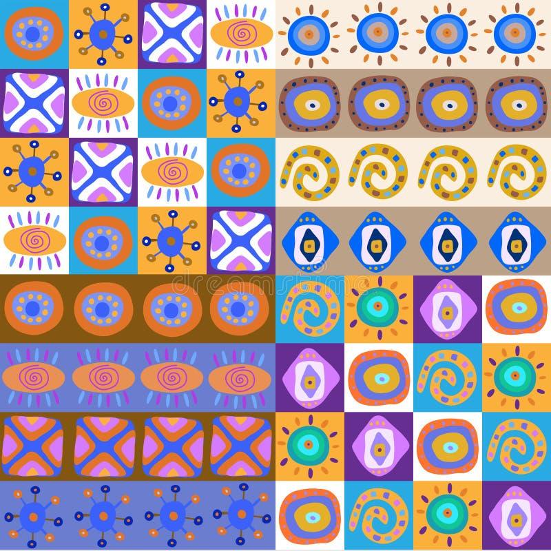 Sistema de modelos étnicos lindos libre illustration