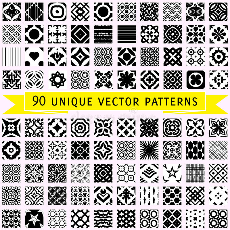 Sistema de noventa modelos del vector libre illustration