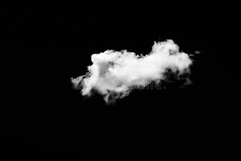 Sistema de nubes aisladas sobre fondo negro Elementos del diseño Nubes aisladas blanco Nubes extraídas recorte fotos de archivo