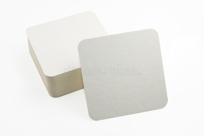 Sistema de nuevos prácticos de costa de papel foto de archivo