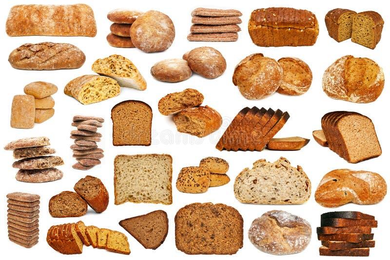 Sistema de pan aislado imagen de archivo libre de regalías