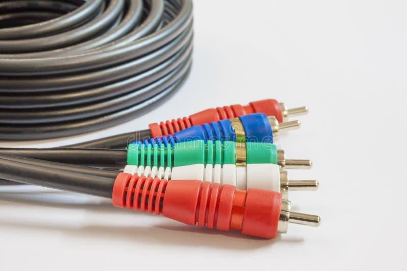Sistema de pesos americano de cable fotografía de archivo