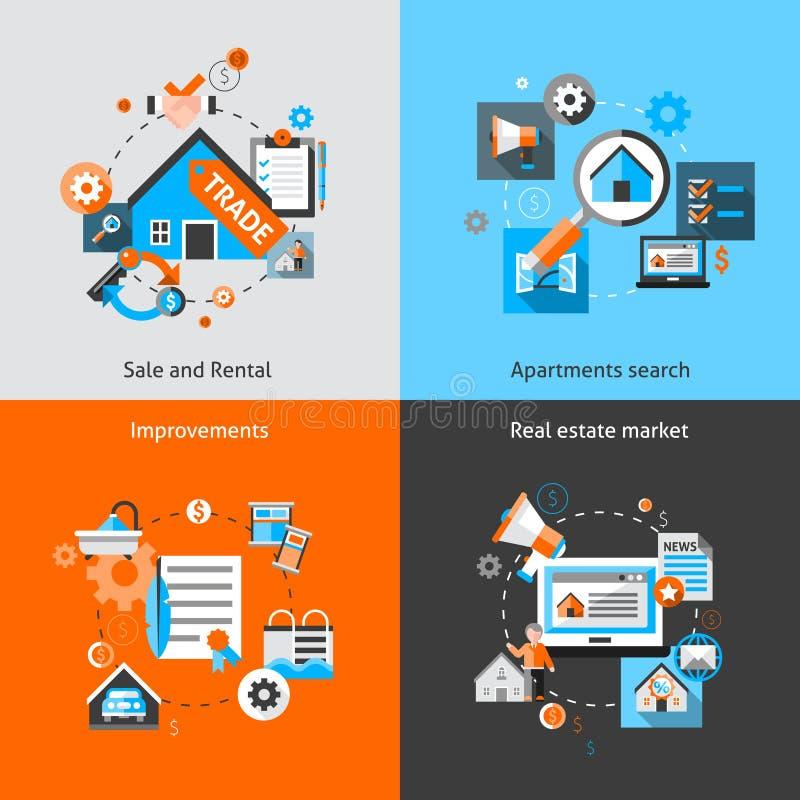 Sistema de Real Estate libre illustration