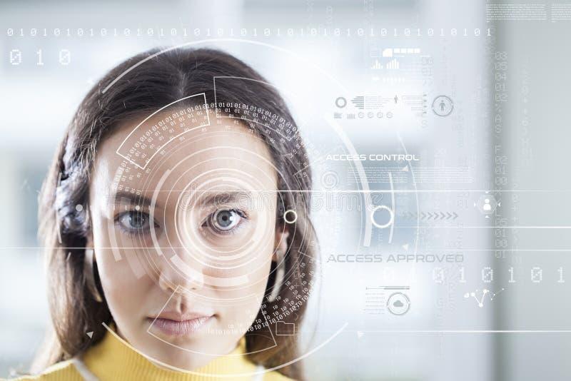 Sistema de reconocimiento facial imagen de archivo