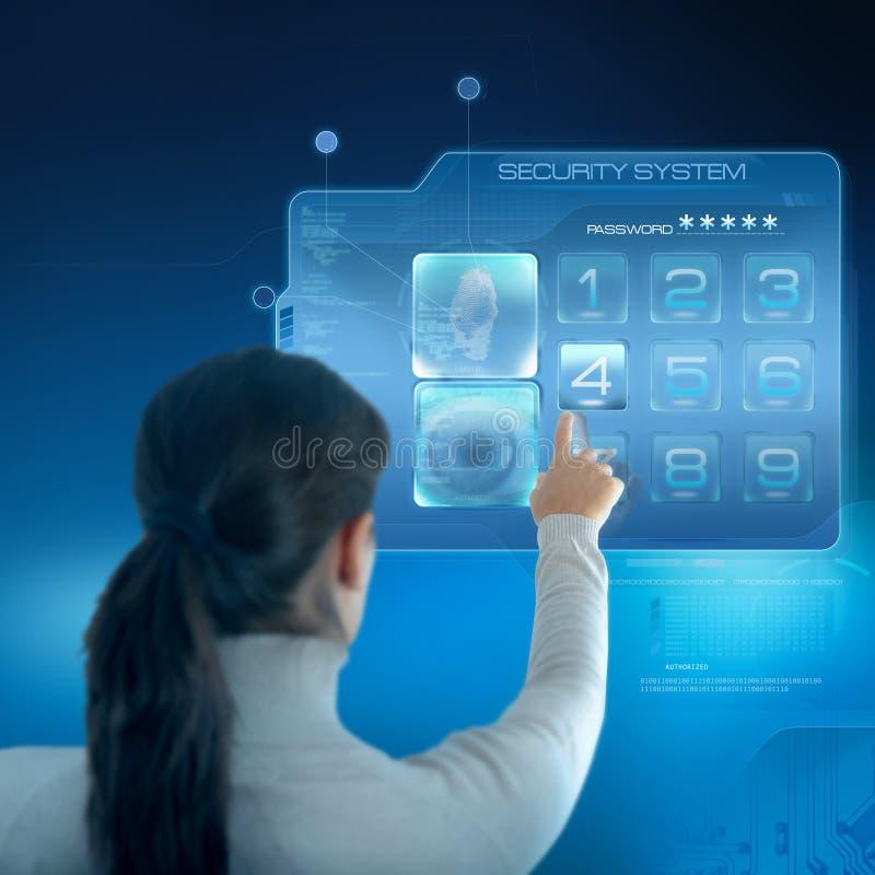 Sistema de segurança imagem de stock royalty free