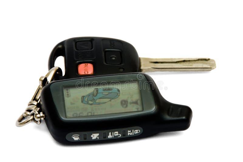 Sistema de segurança do carro imagem de stock