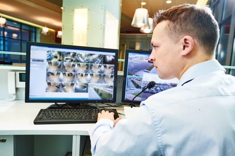 Sistema de seguridad video de la vigilancia de la supervisión imágenes de archivo libres de regalías