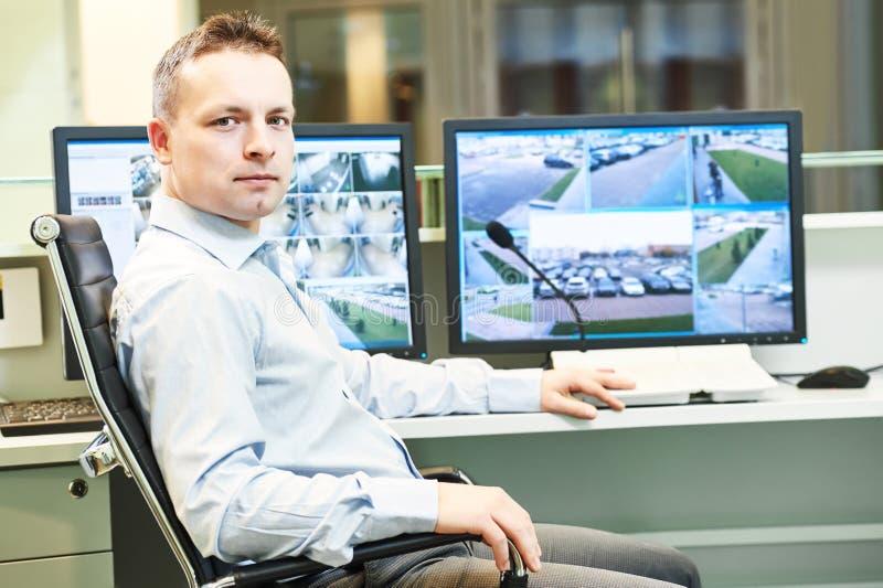 Sistema de seguridad video de la vigilancia de la supervisión imagen de archivo libre de regalías