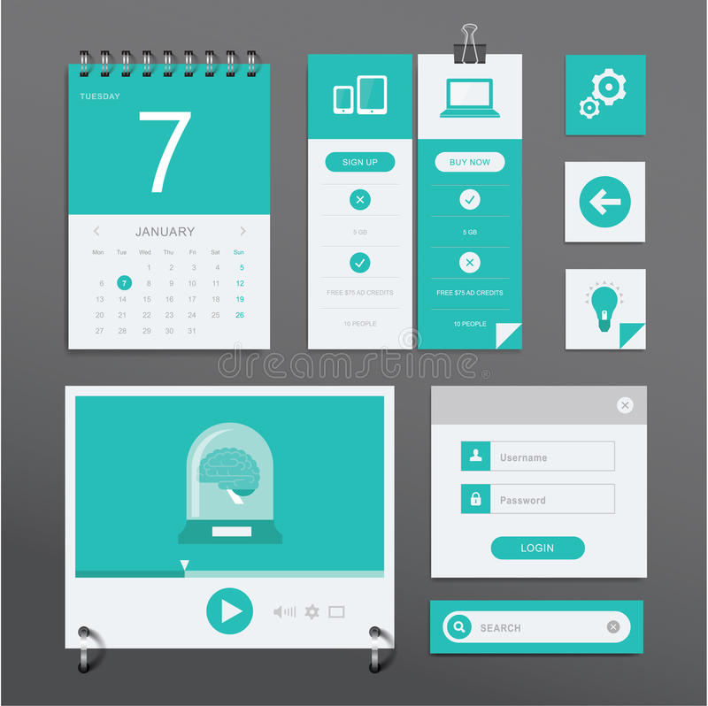 Sistema de UI libre illustration