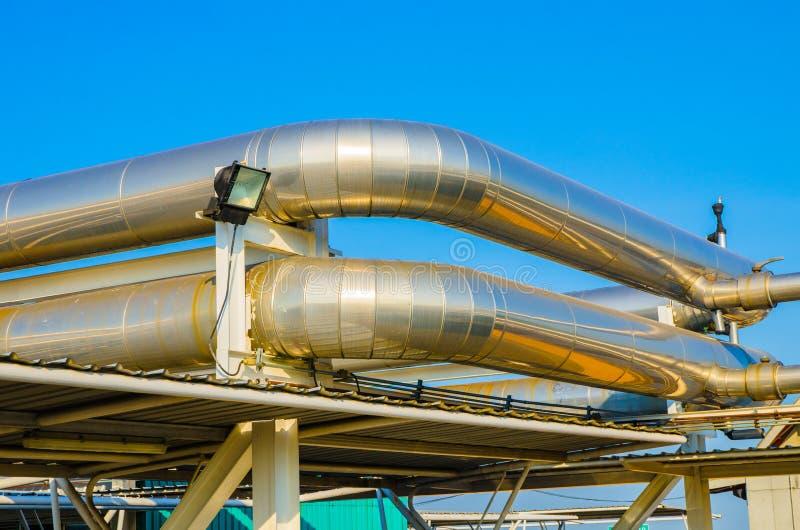 Sistema de ventilação exterior imagem de stock