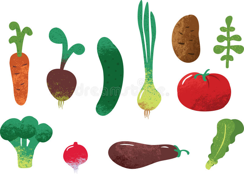 Sistema de verduras libre illustration