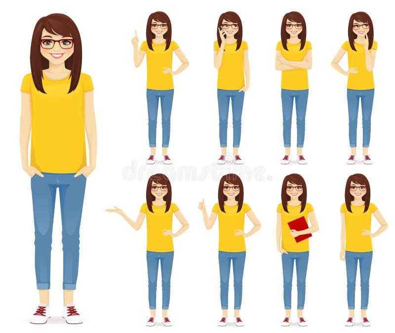 Sistema del adolescente libre illustration