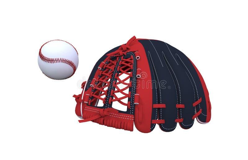 Sistema del béisbol ilustración del vector